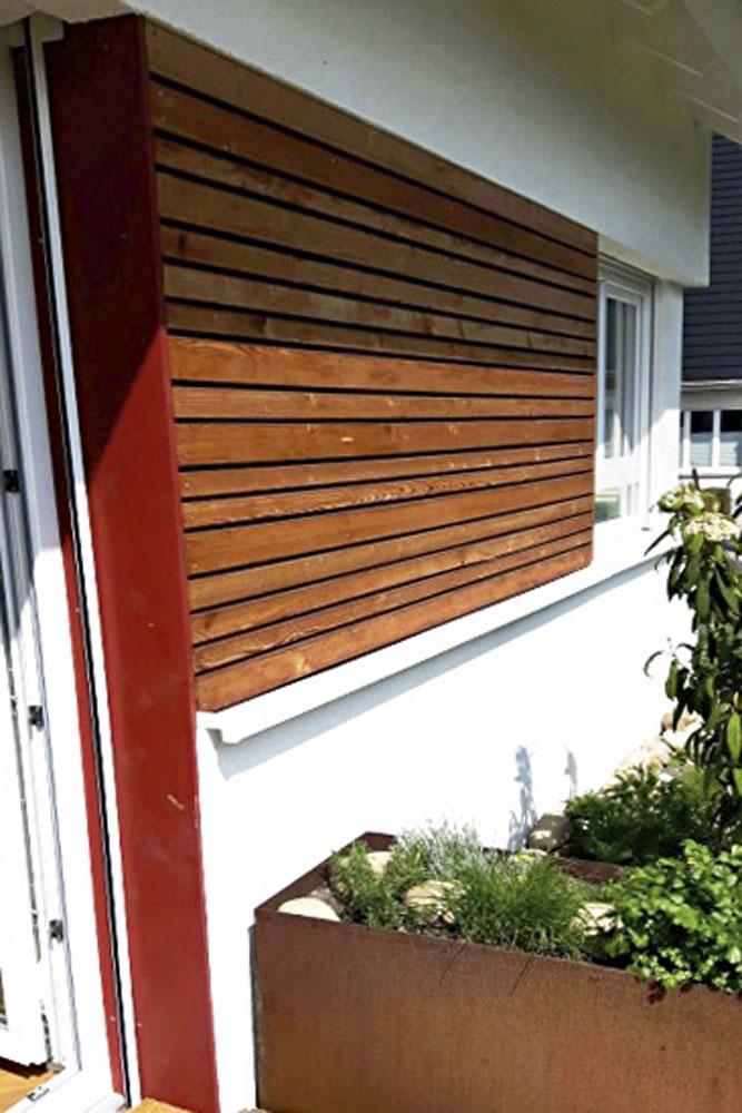 Fassade Holzschalung