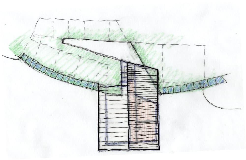 Vollholz Haus Grundriss