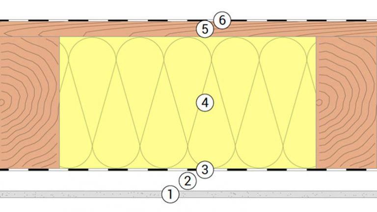Deckenaufbau