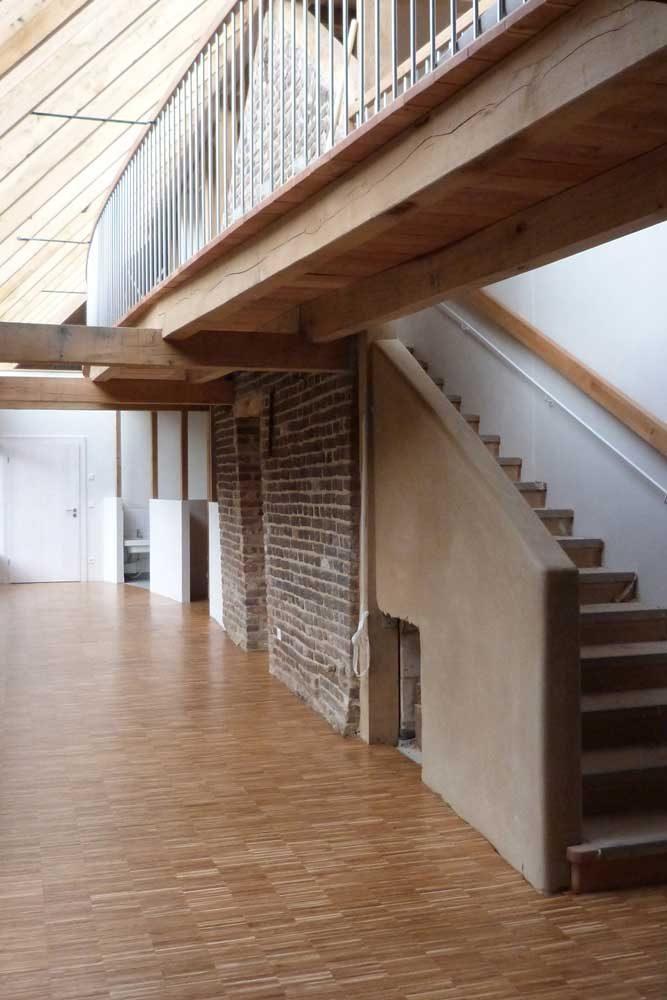 Foyer, Verbindung zwischen alt und neu
