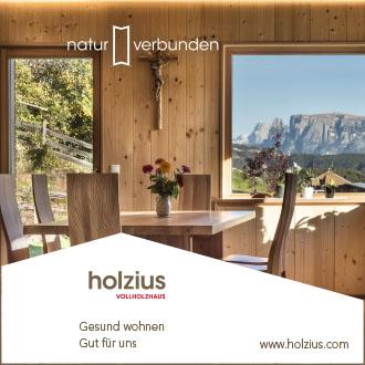 Holzius Anzeige