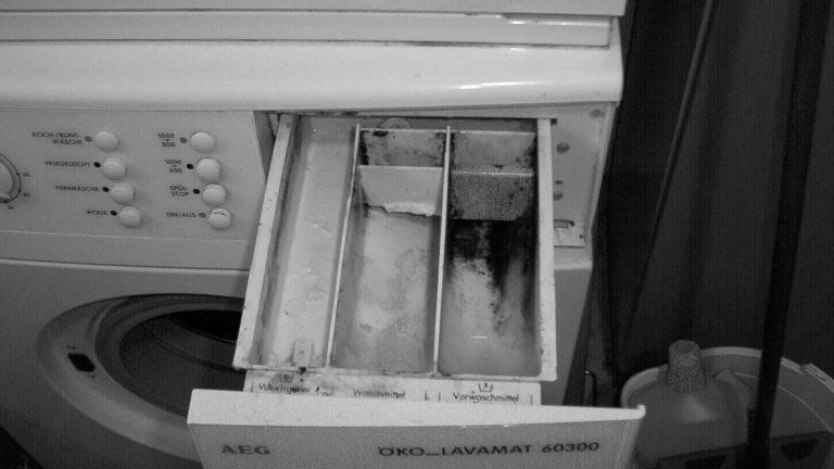 Schimmel in Waschmaschine