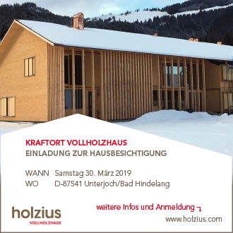 Anzeige Holzius