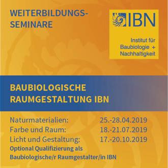 IBN Raumgestaltung Seminar