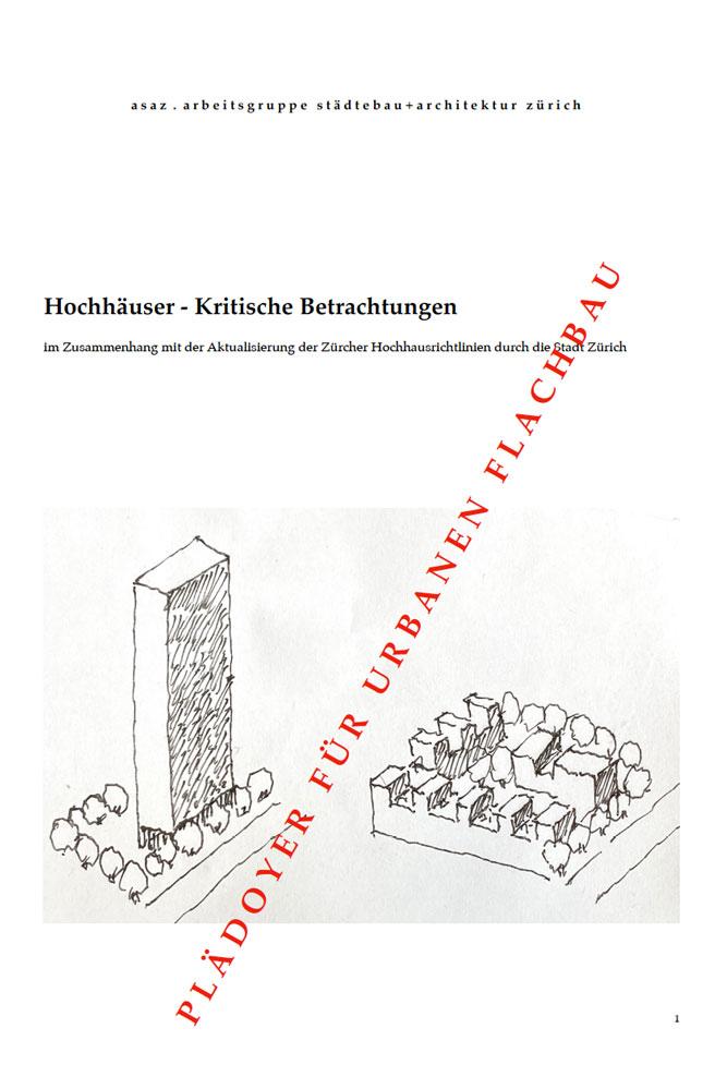 Urbaner Flachbau